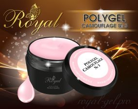 ACRYL GEL CAMOUFLAGE №03 ROYAL 15 мл