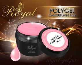 ACRYL GEL CAMOUFLAGE №05 ROYAL 15 мл