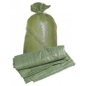 Мешок под строительный мусор 55*95 п/п зеленный