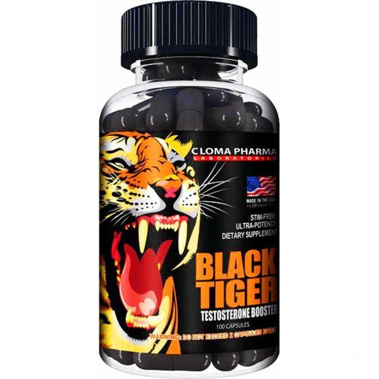 Black Tiger от Cloma Pharma 100 кап