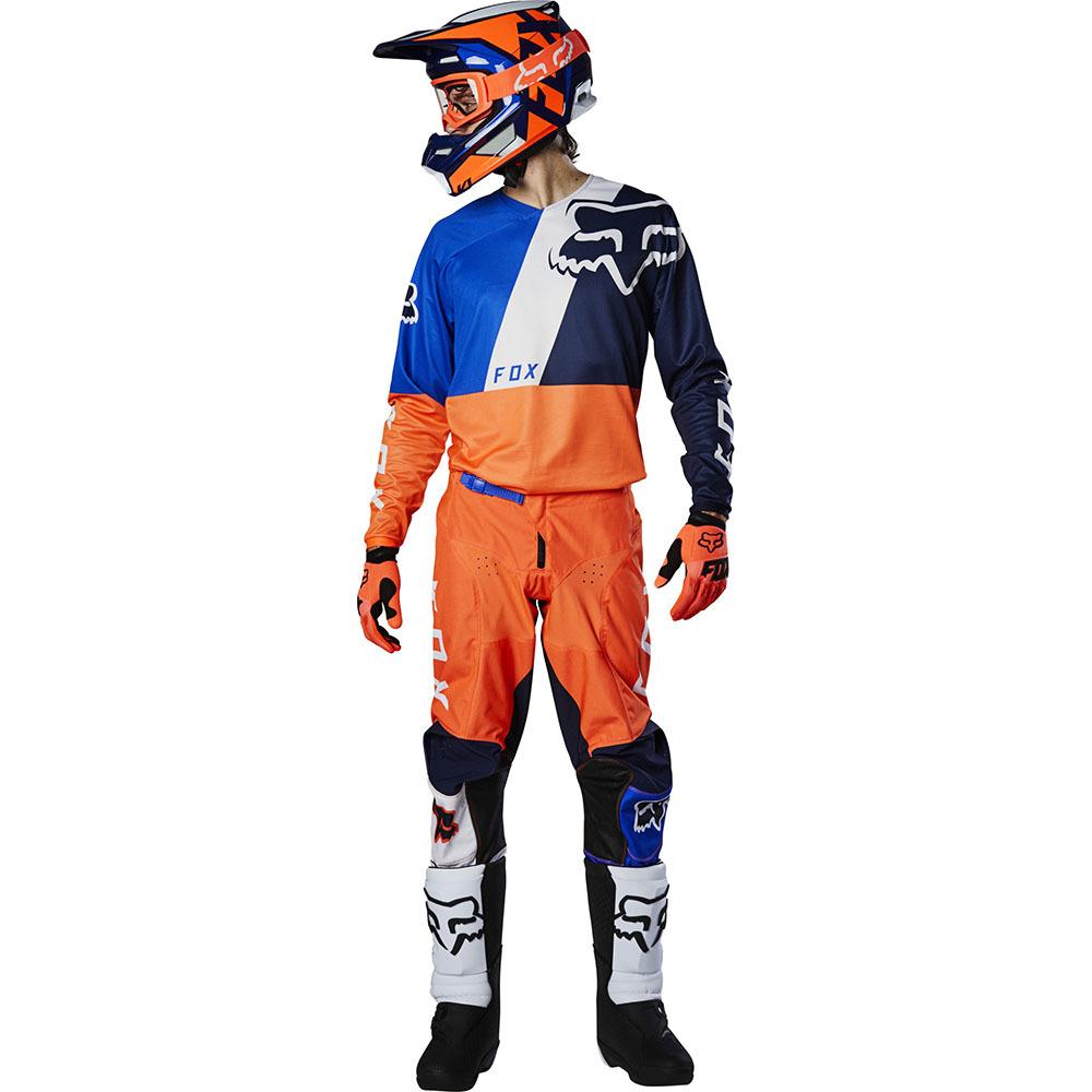 Fox - 2020 180 LOVL SE Youth Orange/Blue подростковые джерси и штаны, оранжево-синие