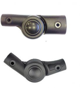 Шарниры регуляторы подножек для колясок вариант 1