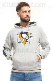 """Толстовка """"NHL Pittsburgh Penguins"""" серая (Арт. 366420)"""