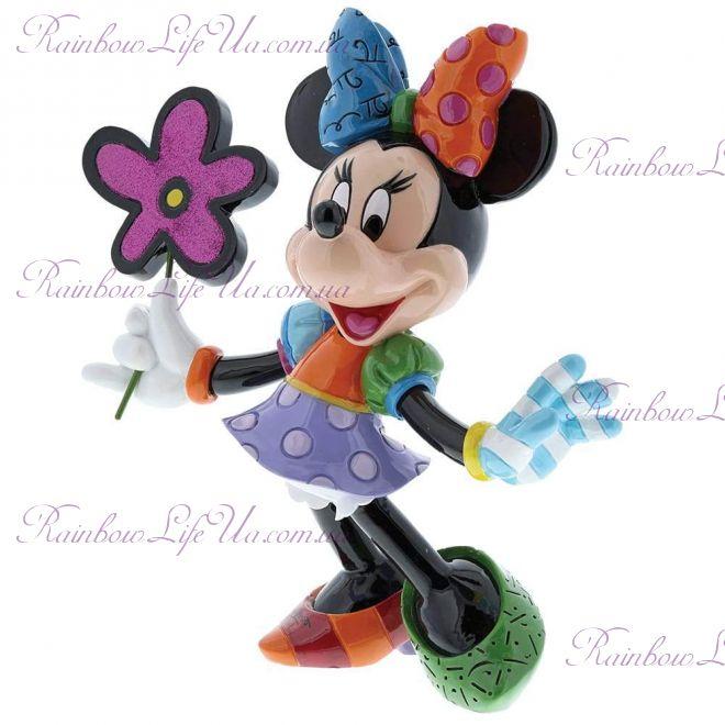 """Фигурка Минни Маус с цветочком """"Disney. Britto"""""""