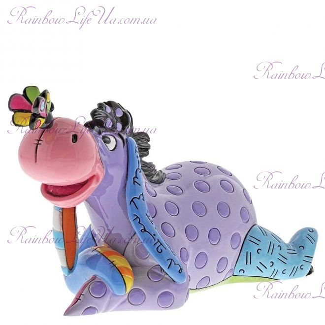 "Фигурка мини ослик Иа с бабочкой ""Disney. Britto"""