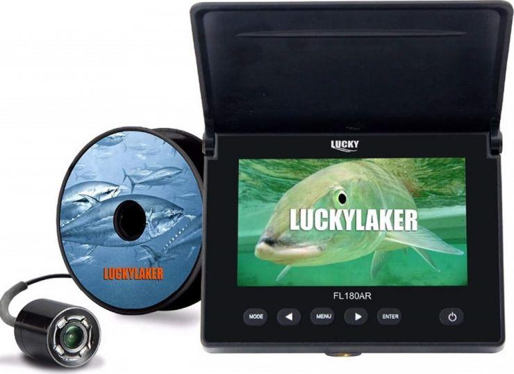 """Камера подводная LUCKY 4.3"""" FL180AR DVR (карта 16 Gb)"""