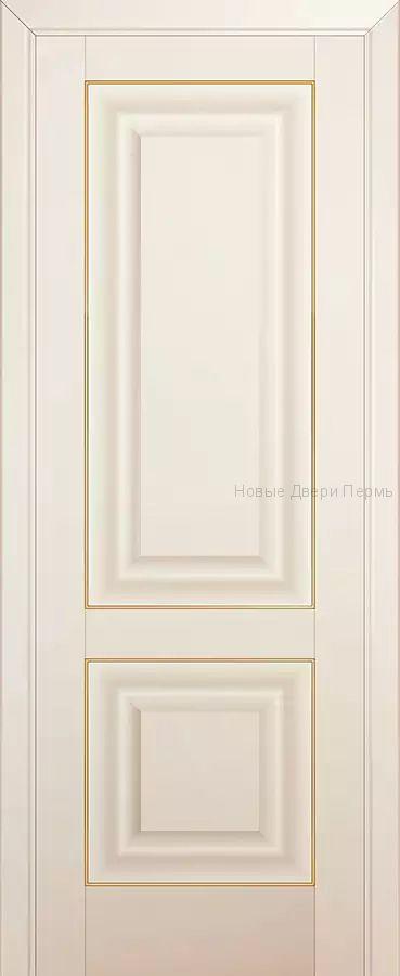 27U МАГНОЛИЯ САТИНАТ молдинг Золото - PROFIL DOORS межкомнатные двери