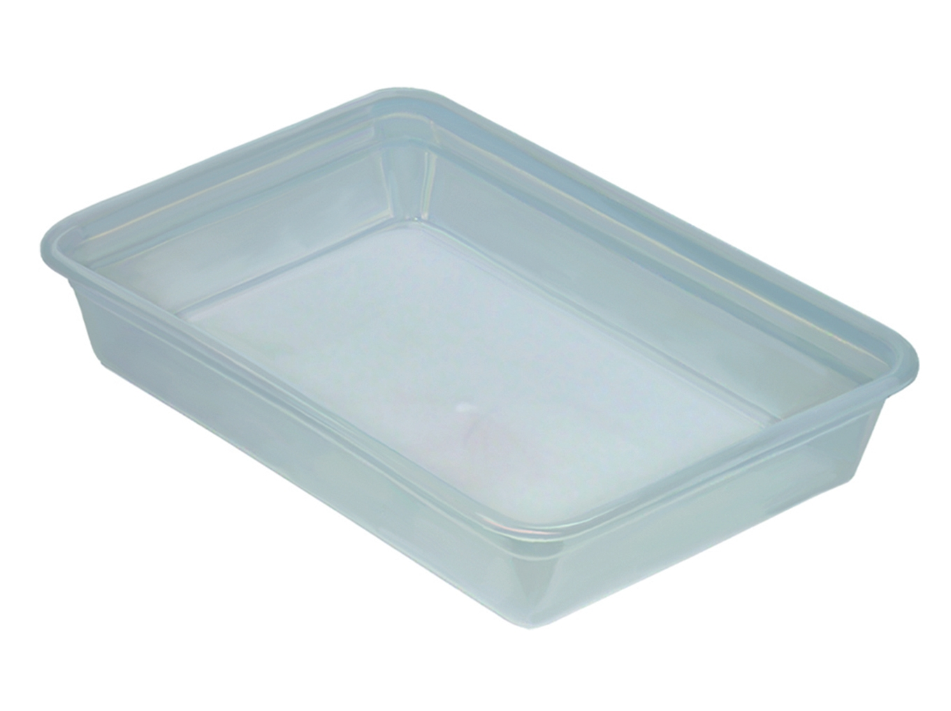 Лоток прозрачный для пищевых продуктов 5л.