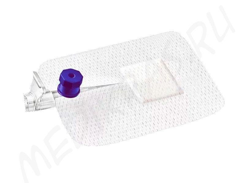 Повязка пластырного типа для фиксации катетеров Angel стерильная 8х6см