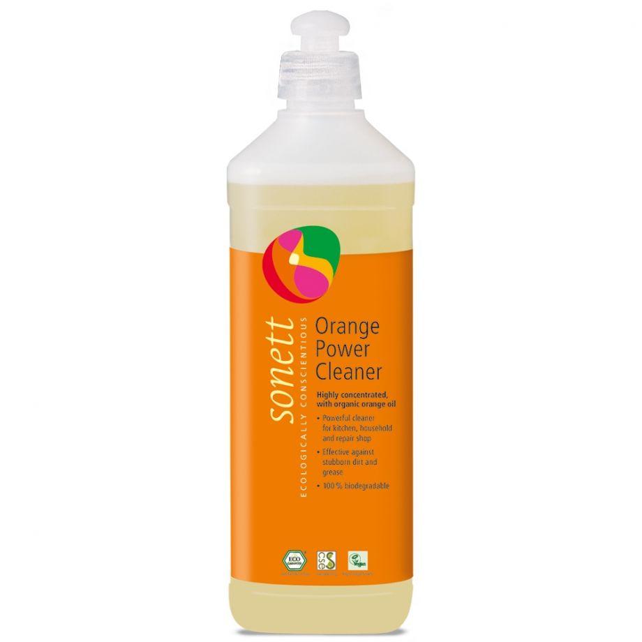 Sonett Средство для удаления жирных загрязнений с маслом Апельсиновой корки, 500 мл