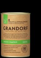 Grandorf  Влажный корм для собак ягненок с индейкой  для взрослых собак, 400 гр
