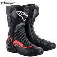 Ботинки Alpinestars SMX-6 V2, Чёрно-серо-красные
