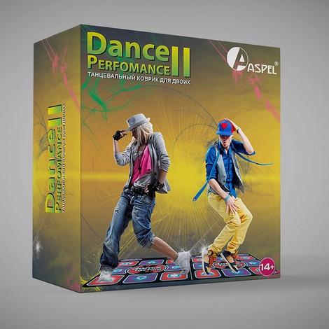 Танцевальный коврик для двоих DANCE PERFOMANCE II.