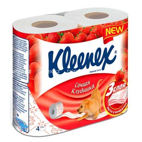 """Kleenex """"Клубника"""""""