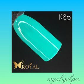 K86 Royal CLASSIC гель краска 5 мл.