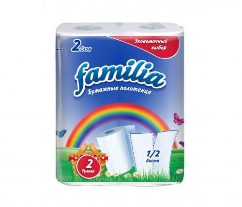 """Бумажные полотенца """"Familia"""""""