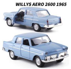 Металлическая модель автомобиля Willys Aero 2600 масштаб 1:38