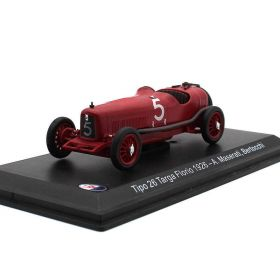 Металлическая модель автомобиля Maserati Tipo 26 №5 Targa Florio масштаб 1:43