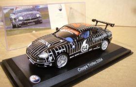 Металлическая модель автомобиля MASERATI Coupe Trofeo #64 2004 масштаб 1:43