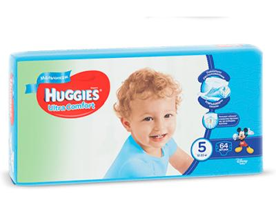 "Huggies ""Ultra Comfort 5"" 64 шт."