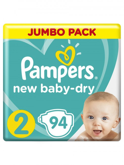 "Pampers ""New Baby-Dry 2"" 94 шт."