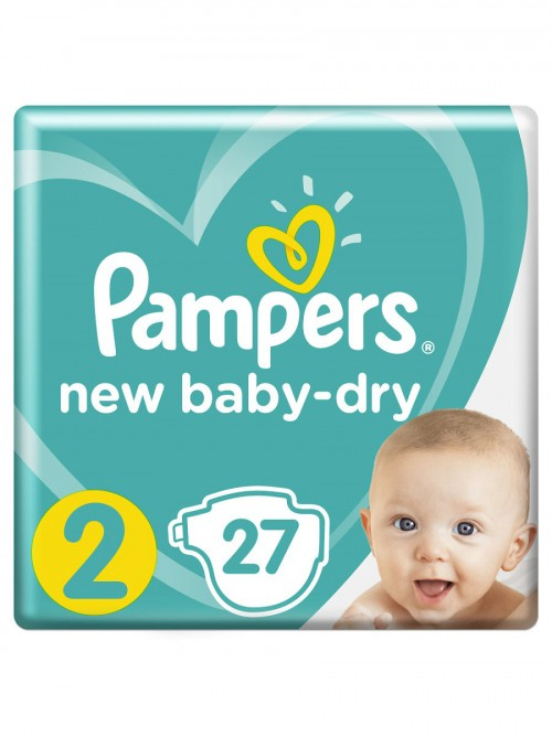 """Pampers """"New Baby-Dry 2"""" 27 шт."""