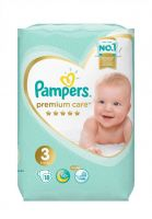 "Pampers ""Premium Care 3"" 18 шт."