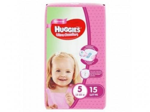 "Huggies ""Ultra Comfort 5"" 15шт."
