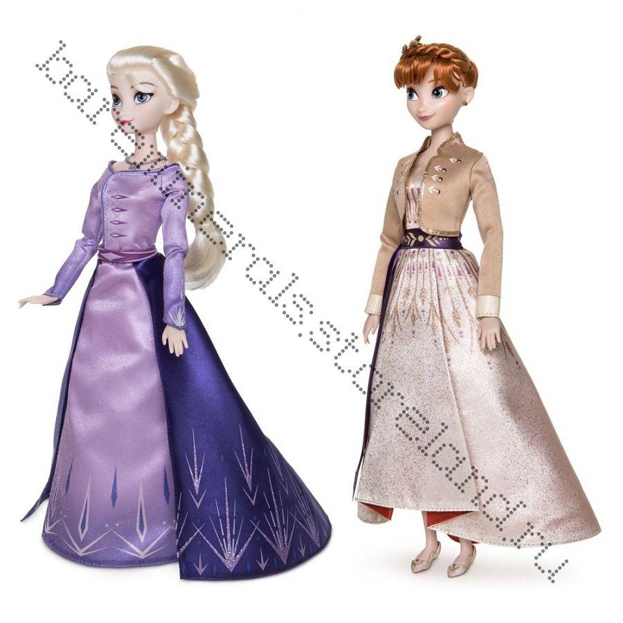 Кукла Эльза и Анна оригинал Дисней