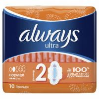 "Always Ultra ""Normal"" 10"