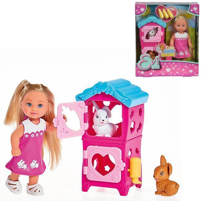 ЕВИ Кукла с кроликами