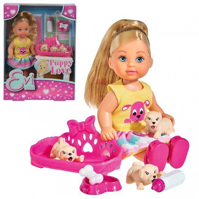 ЕВИ Кукла с собачками