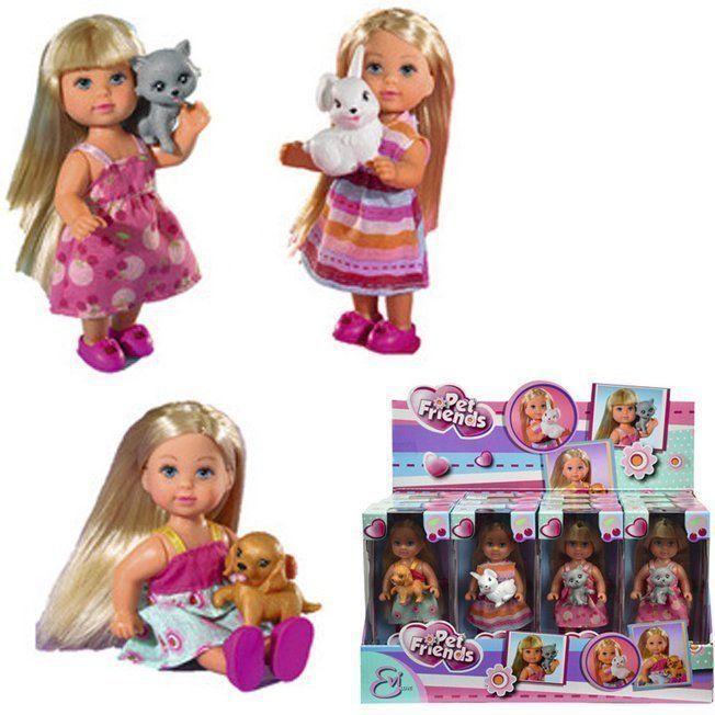 ЕВИ Кукла со зверюшками