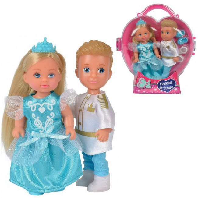 ЕВИ Кукла Тимми и Еви-принц и принцесса