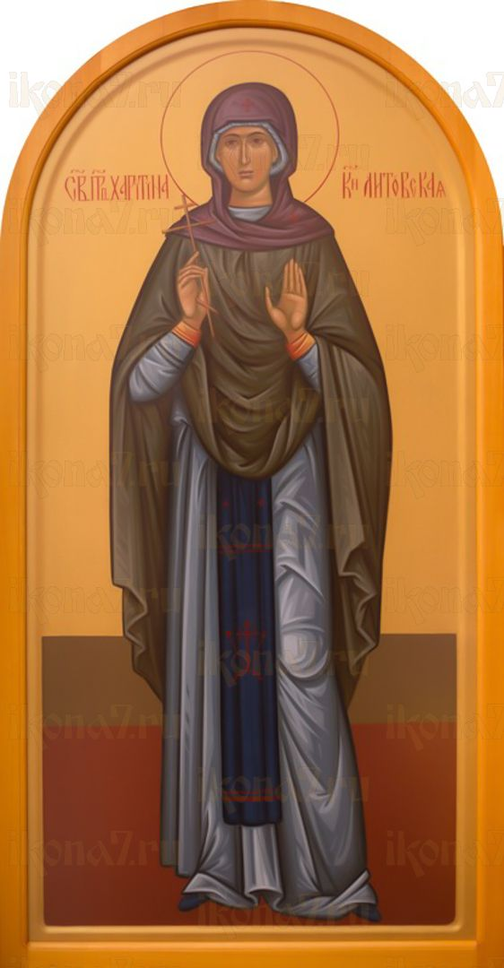 Икона Харитина Литовская преподобная