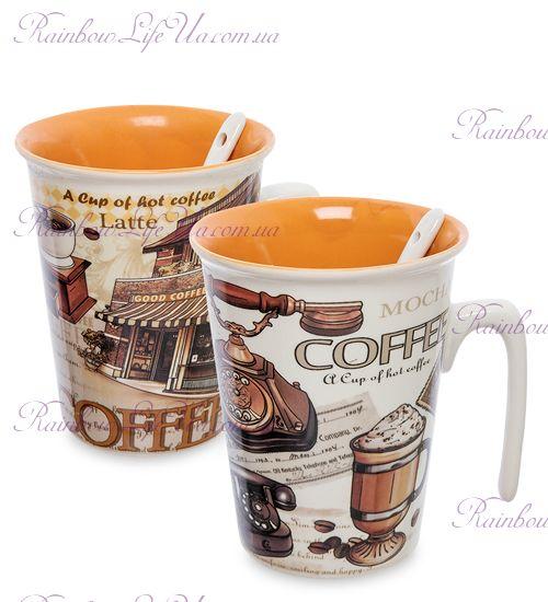 """Чашка с ложкой """"Coffee"""""""