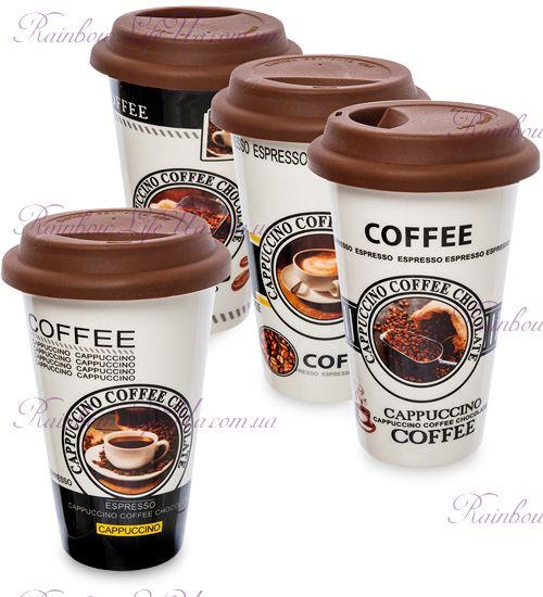 """Чашка с крышкой """"Coffee"""""""