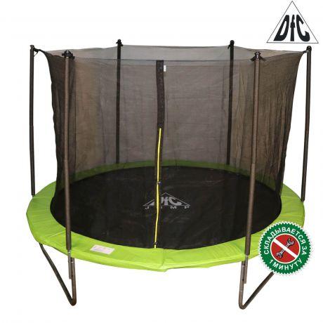 Складной батут с сеткой DFC JUMP 8ft apple green