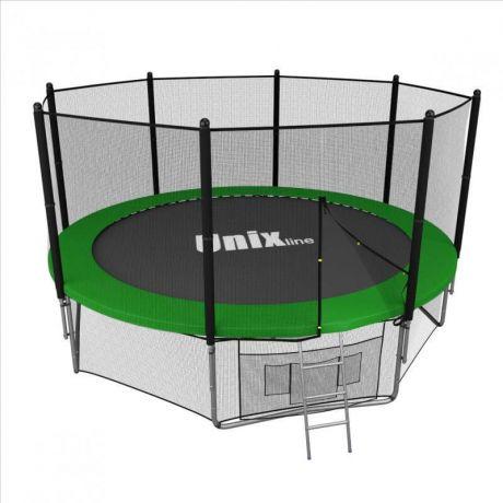 Батут UNIX line 12 ft outside (Green)