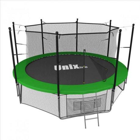 Батут UNIX line 14 ft inside (green)