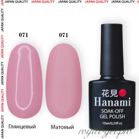 Гель лак HANAMI M071