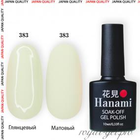 Гель лак HANAMI M383