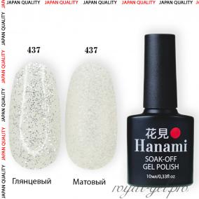 Гель лак HANAMI M437