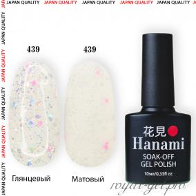 Гель лак HANAMI M439