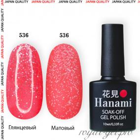 Гель лак HANAMI M536