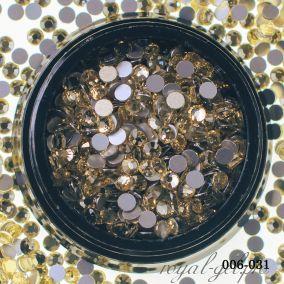 Стразы Hanami Светлое золото, SS10 580 шт.