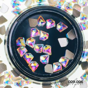 Декоративный камень Hanami Бриллиант, голографик 20 шт.