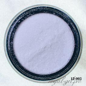 Глитер Hanami, белый жемчуг, 1/256 2 гр.