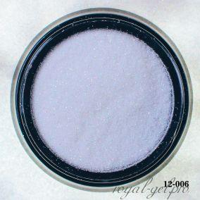 Глитер Hanami, белый голографический розовый, 1/256 2 гр.