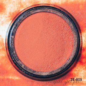 Акриловая пудра Hanami с блёстками, тёмно-оранжевый 2 гр.
